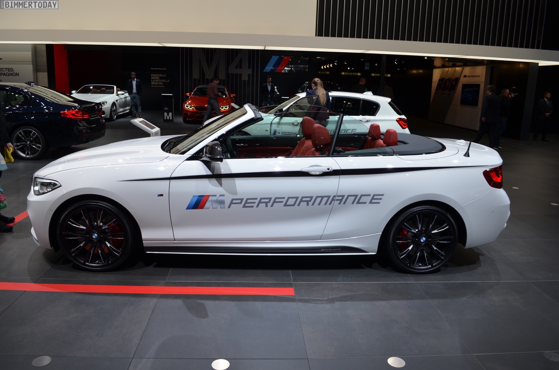 BMW M Performance-tuned M240i Convertible At Geneva