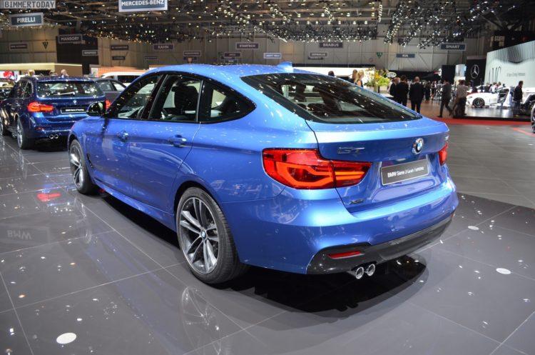 2017 BMW 3er GT F34 LCI 335d xDrive M Sportpaket Genf Live 04 750x497