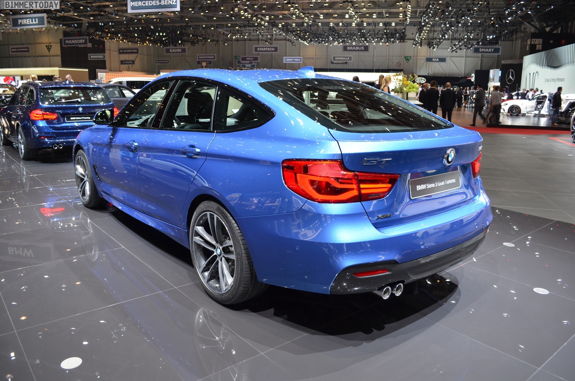 bmw 3 series gt lci as 335d with m package in estoril blue. Black Bedroom Furniture Sets. Home Design Ideas