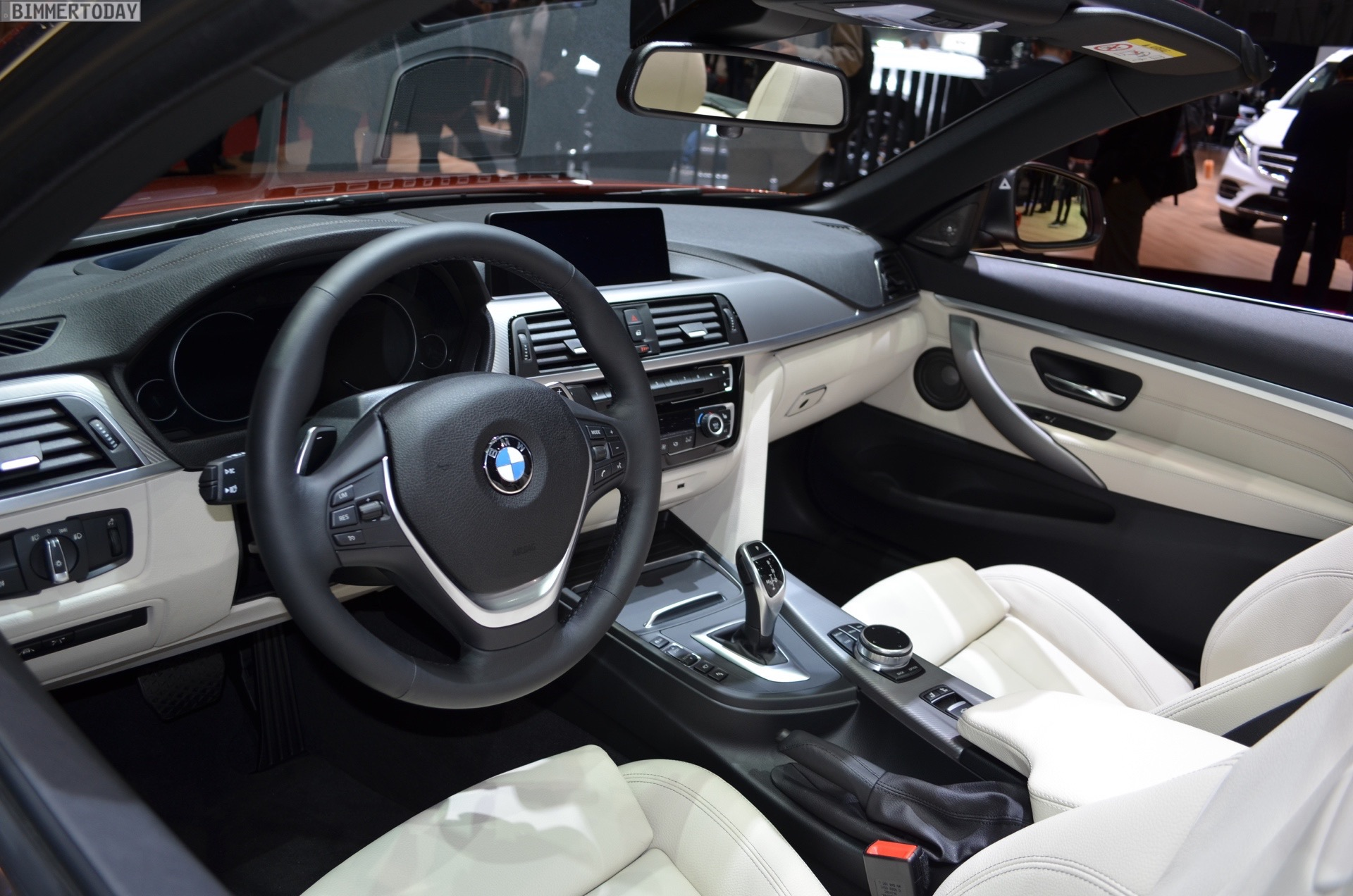Bmw 4 Series Convertible White With Red Interior Picture Idokeren