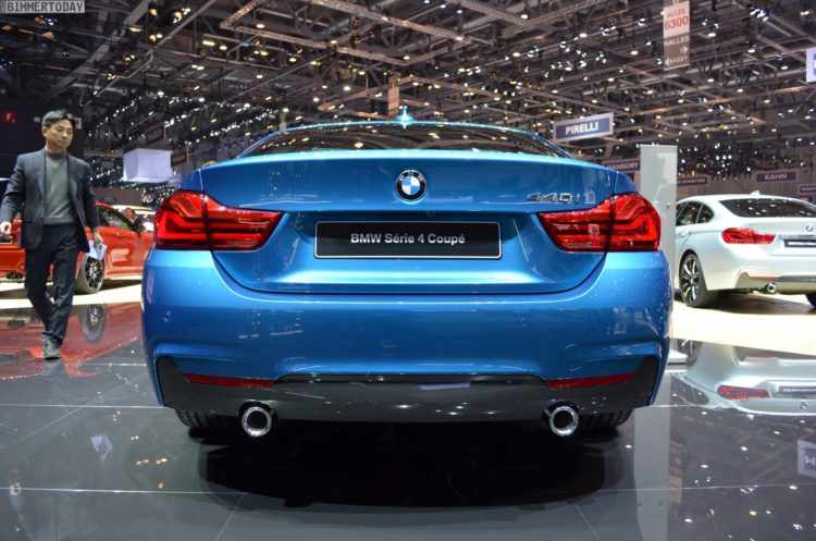 2017 geneva bmw 440i facelift in snapper rocks blue. Black Bedroom Furniture Sets. Home Design Ideas