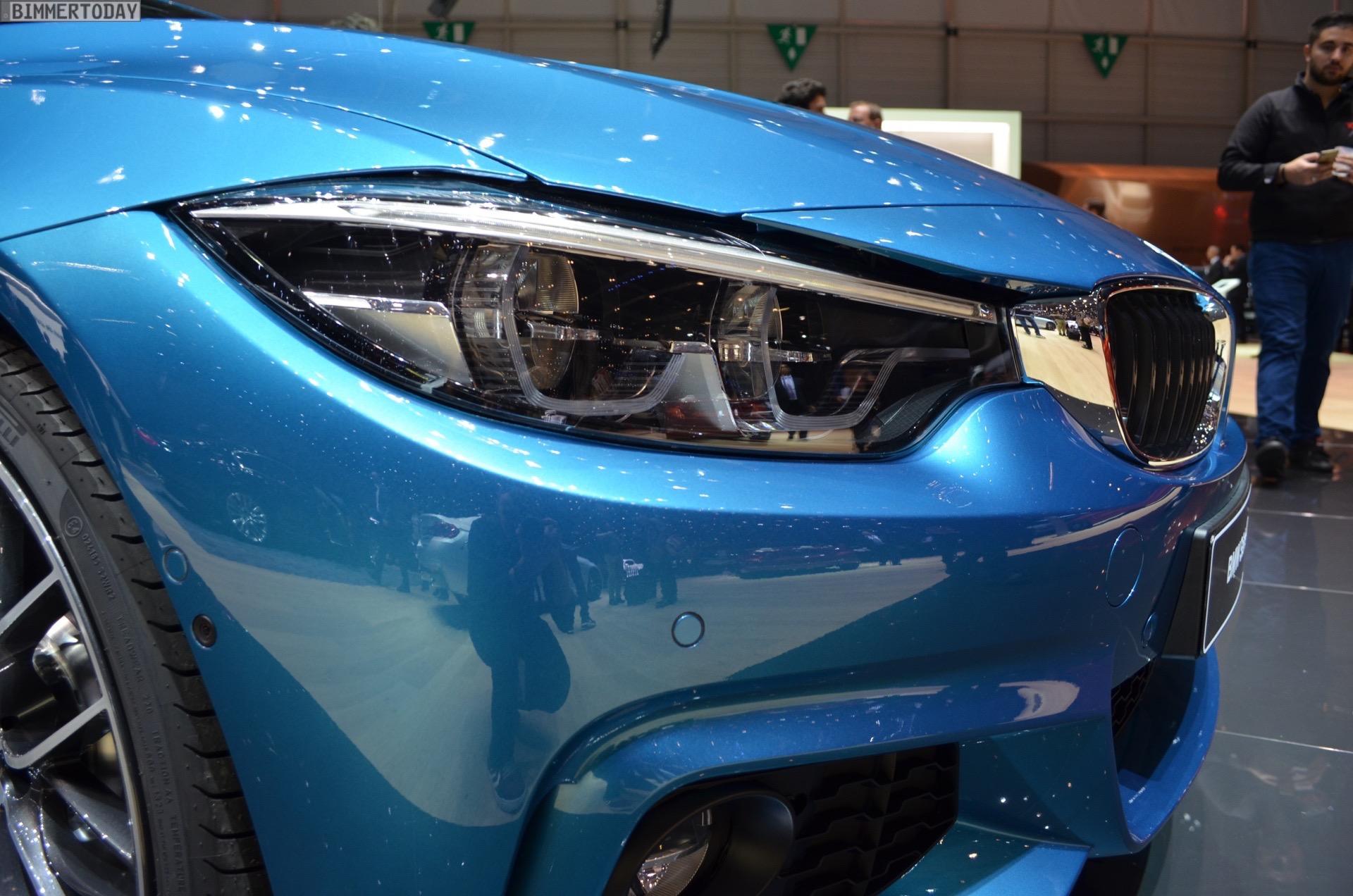 2017 Geneva: BMW 440i Facelift in Snapper Rocks Blue
