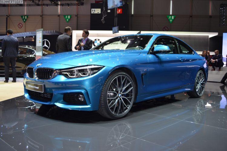 2017 BMW 4er F32 LCI Facelift Coupe 440i Snapper Rocks Blue Genf Live 29 2  750x500