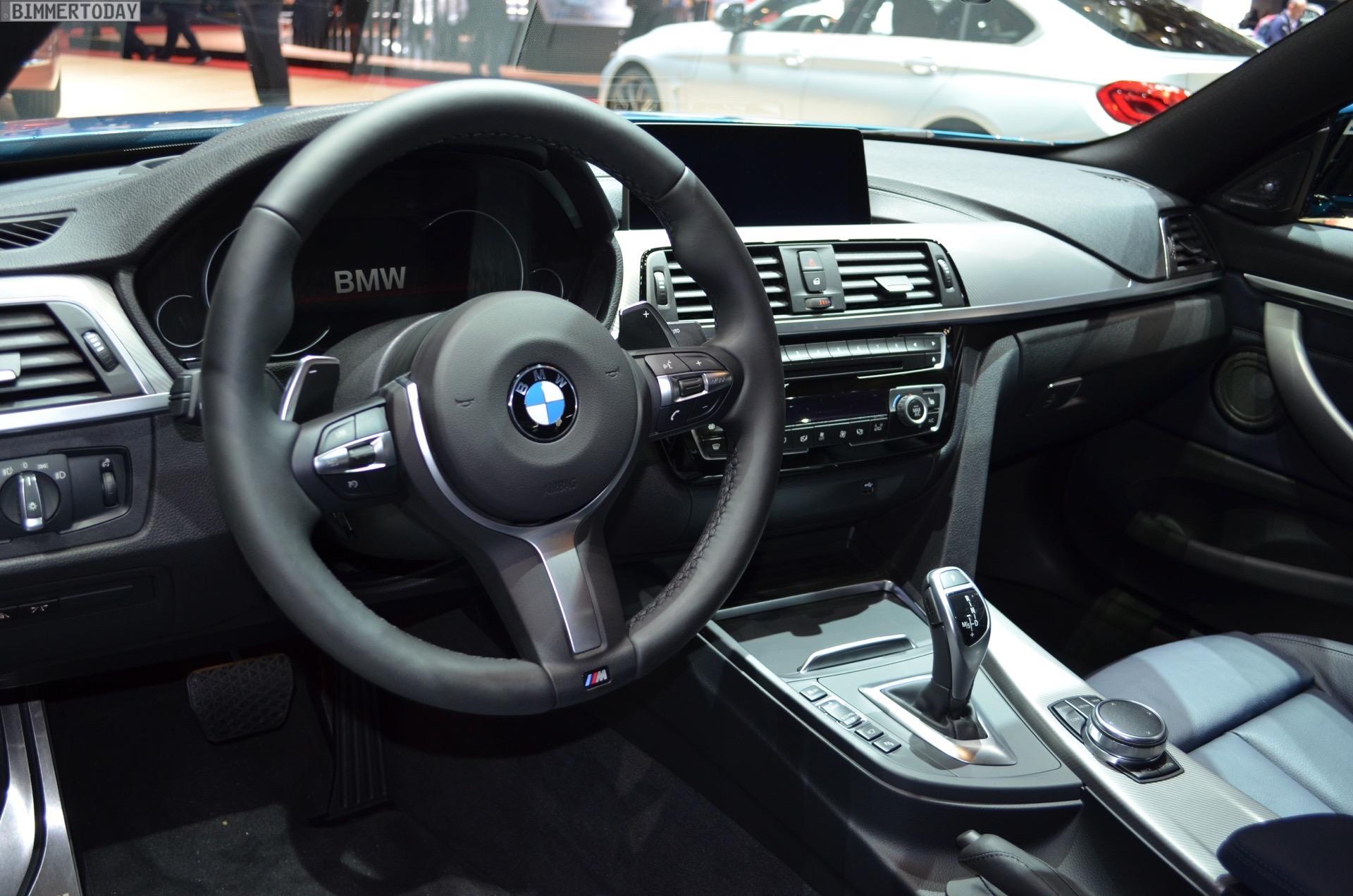 2017 Geneva Bmw 440i Facelift In Snapper Rocks Blue