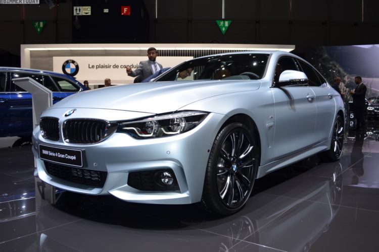 2017 BMW 4er F36 Gran Coupe 440i Frozen Silber Genf Live 11 750x500