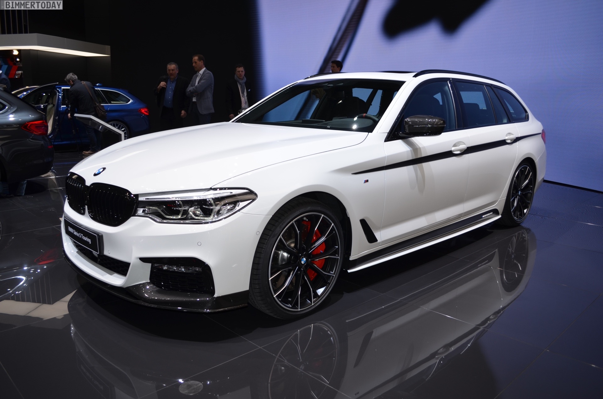 2017 Geneva Bmw 5 Series Touring Debuts With M Performance Parts