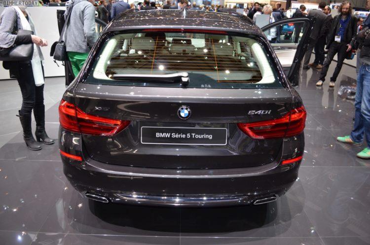 2017 BMW 5er Touring G31 540i Luxury Line Sophistograu Genf Live 09 750x497