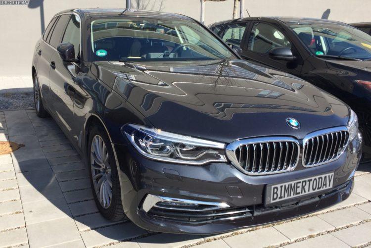 2017 BMW 5er Touring G31 Luxury Line Live Fotos 01 750x501