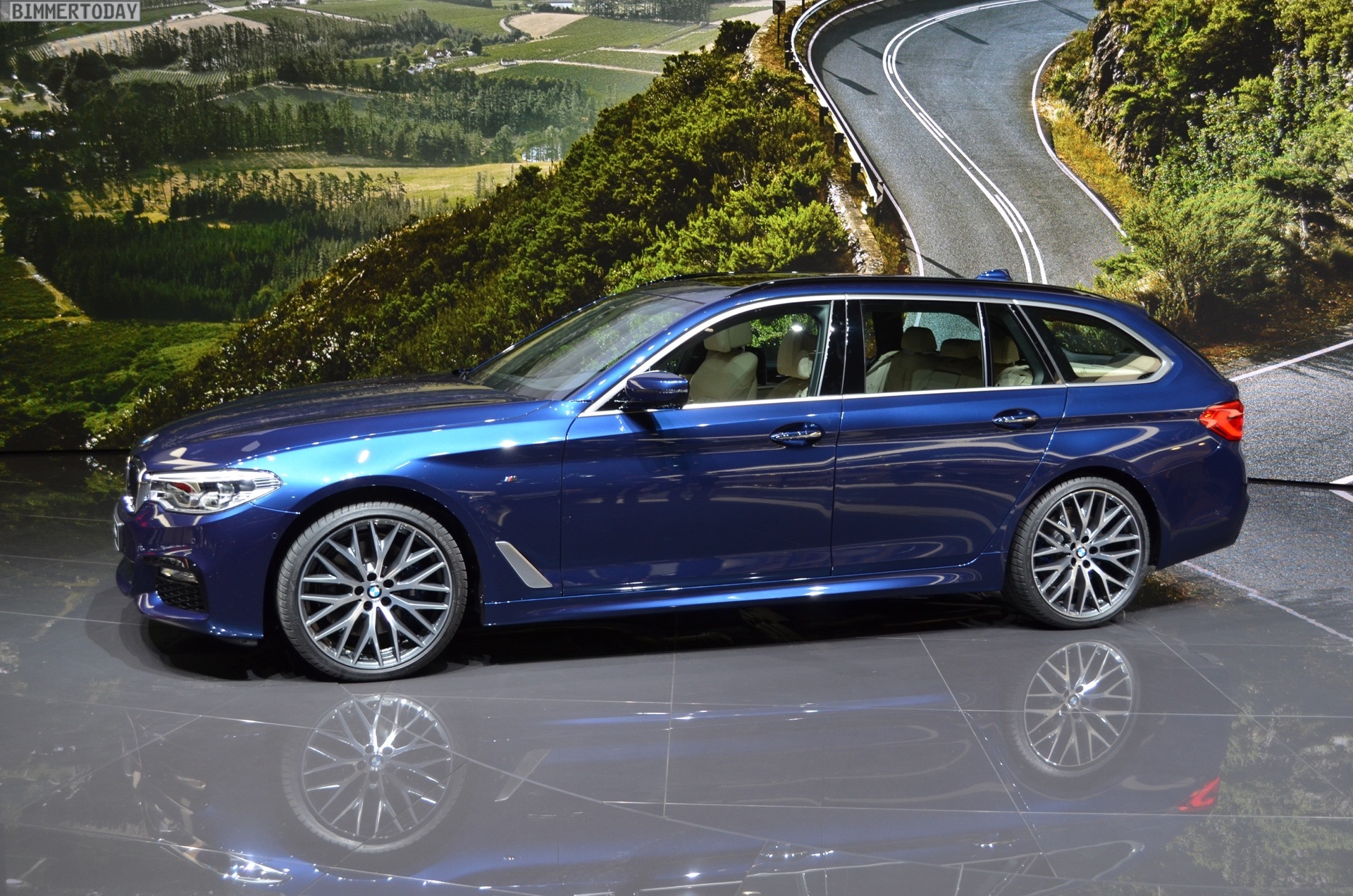 New Photos Of The 2017 Bmw 530d Touring With M Sport Package