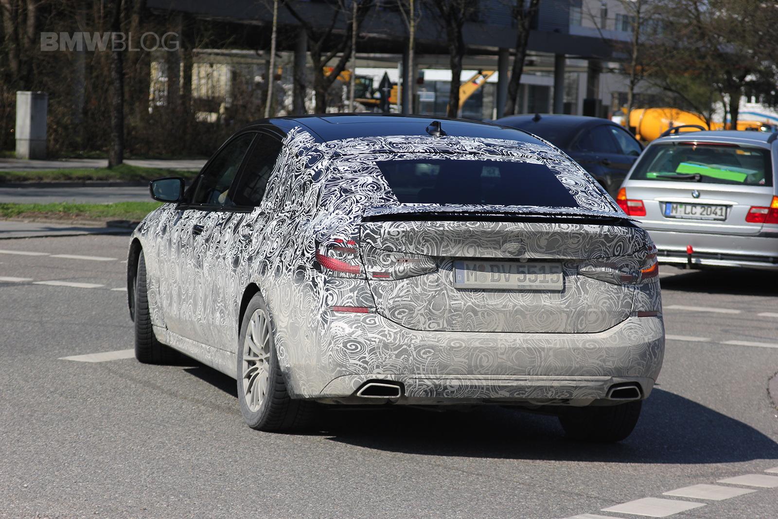 2017 BMW 6 Series GT spied 03