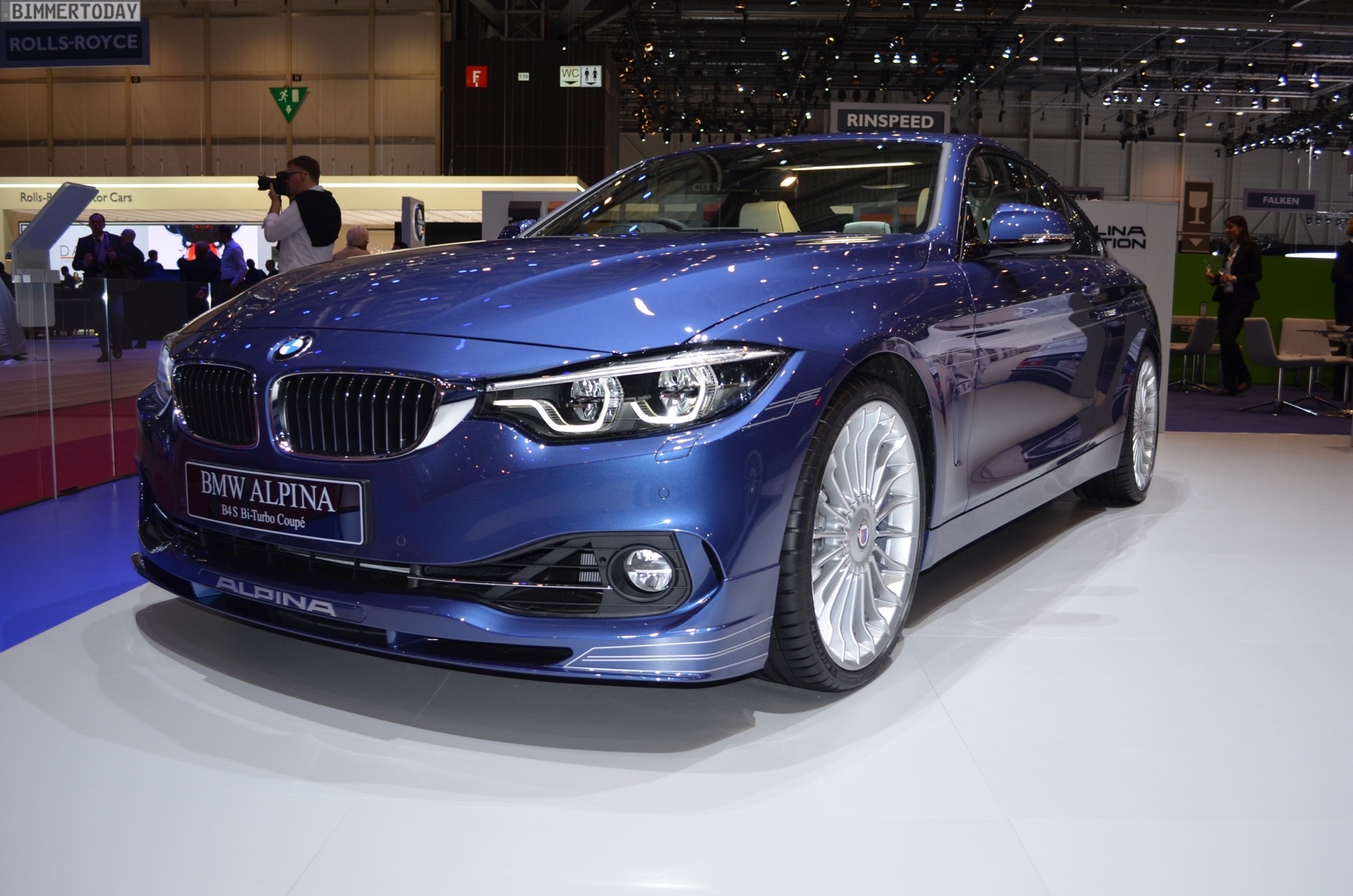 2017 Geneva Bmw Alpina B4 S With Facelift And Update To 440 Hp