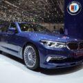 2017 BMW Alpina B5 G30 5er Limousine Genf Autosalon Live 01 120x120