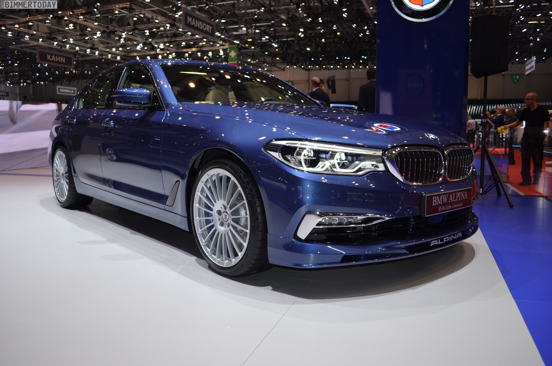 2017 Geneva World Debut Of The Bmw Alpina G30 B5 With 608 Horsepower