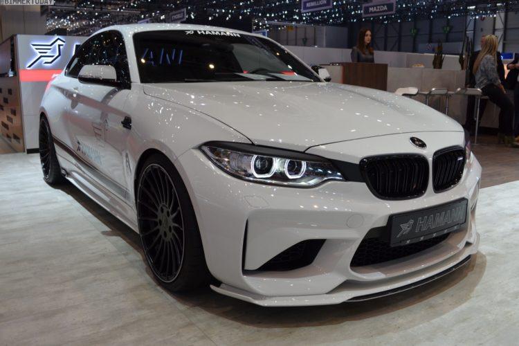 2017 BMW M2 F87 Hamann Motorsport Tuning Genf Live 01 750x500