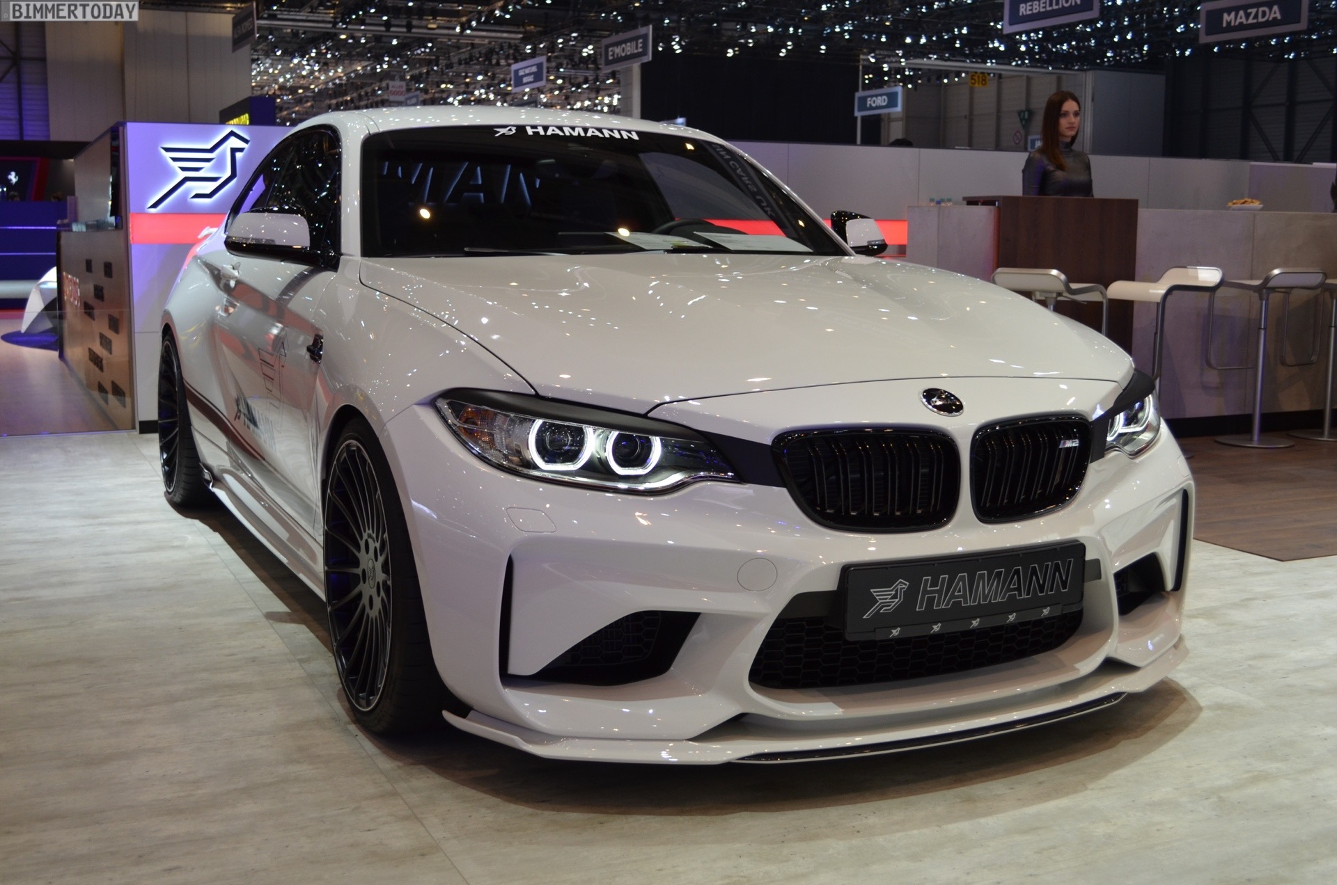2017 Geneva Bmw M2 With 420 Hp Tuning From Hamann Motorsport