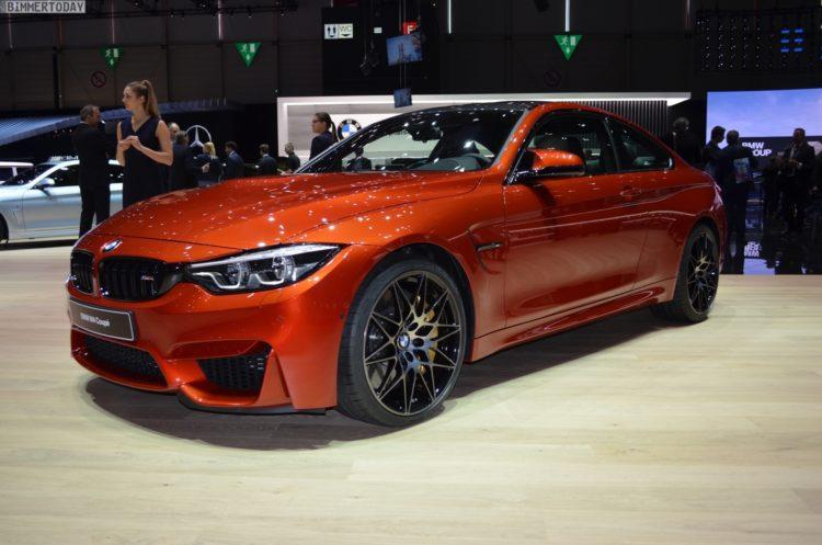 2017 Geneva Motor Show 2017 Bmw M4 Facelift