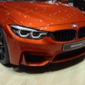 2017 BMW M4 F82 LCI Facelift Competition Coupe Sakhir Orange Genf Live 31 120x120