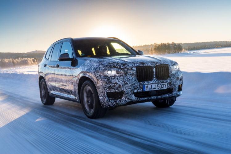 2017 BMW X3 winter testing 01 750x500
