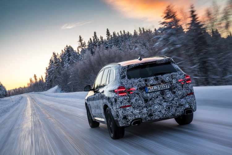 2017 BMW X3 winter testing 03 750x500