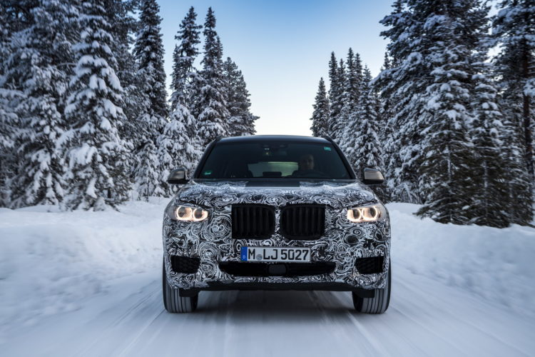 2017 BMW X3 winter testing 05 750x500