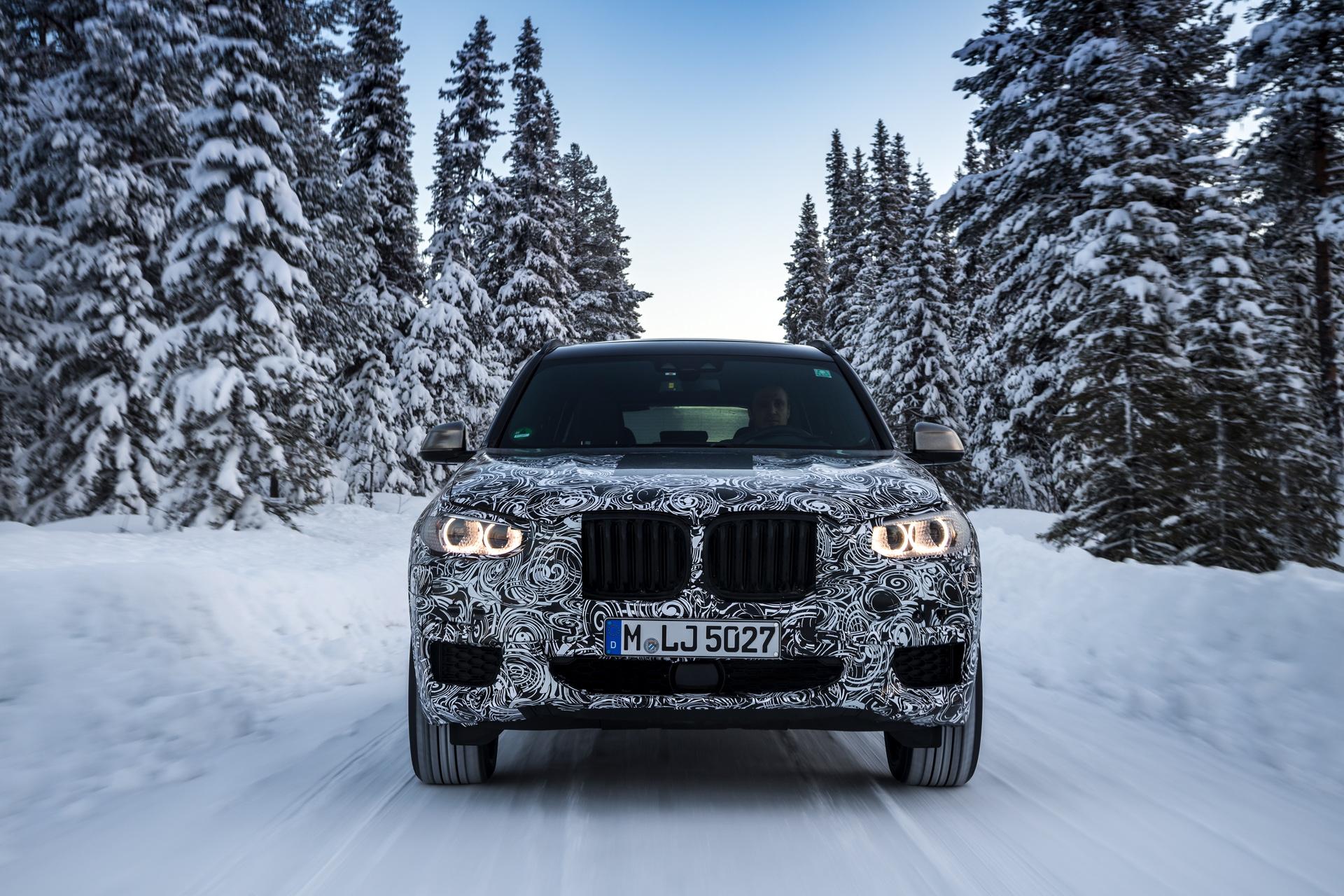 2017 BMW X3 winter testing 05