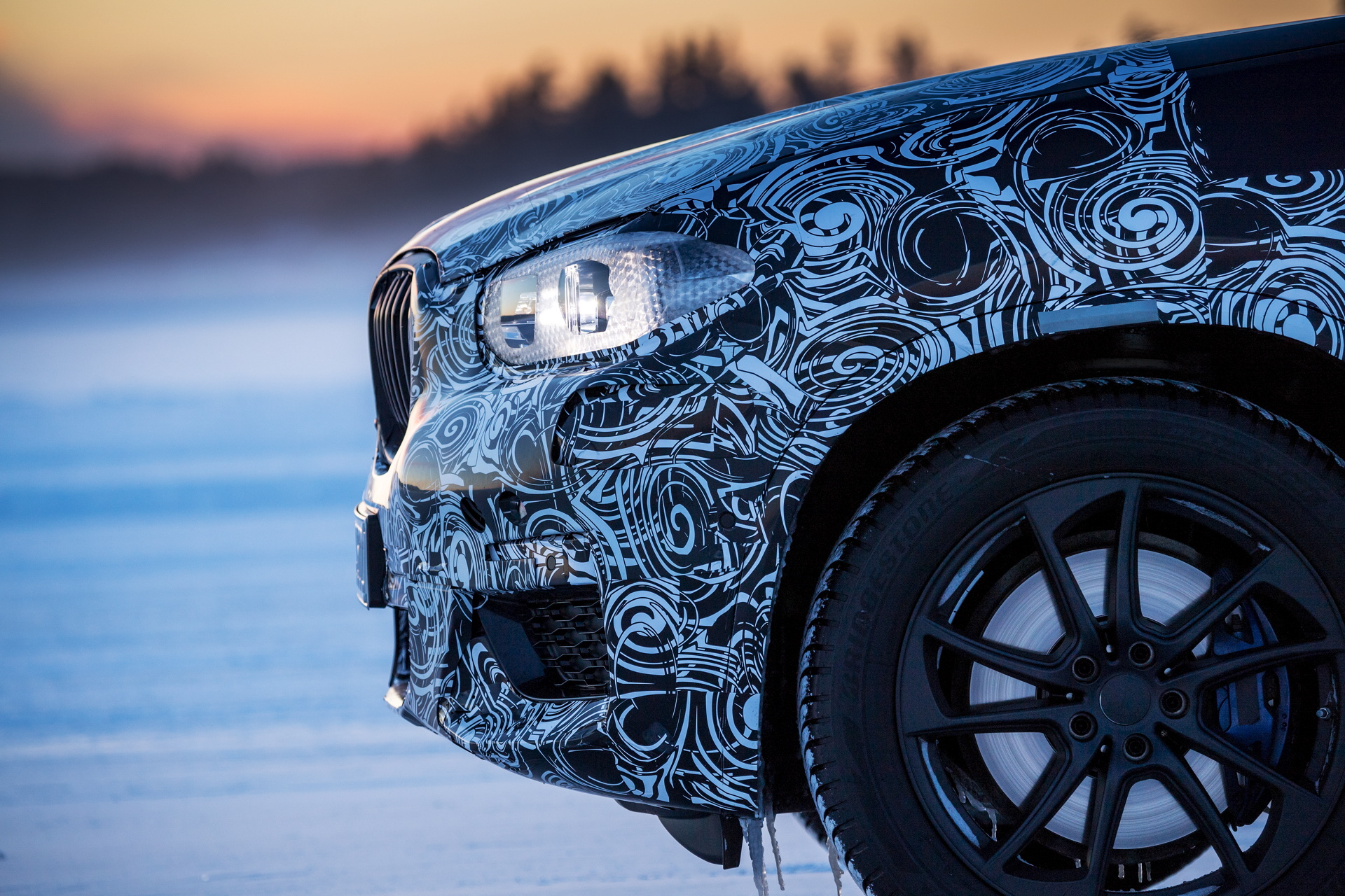 2017 BMW X3 winter testing 06