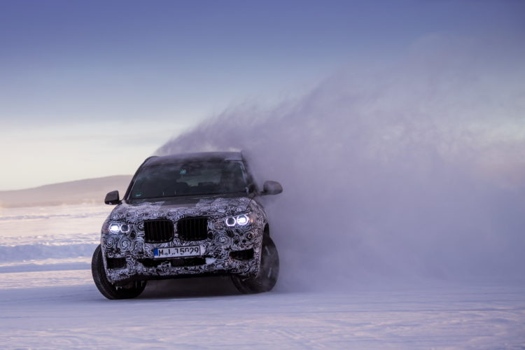 2017 BMW X3 winter testing 09 750x500