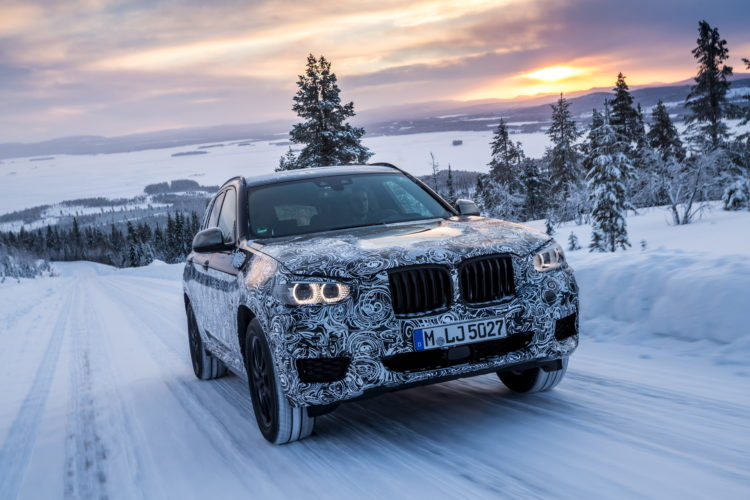 2017 BMW X3 winter testing 13 750x500