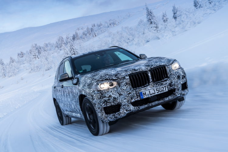 2017 BMW X3 winter testing 15 750x500