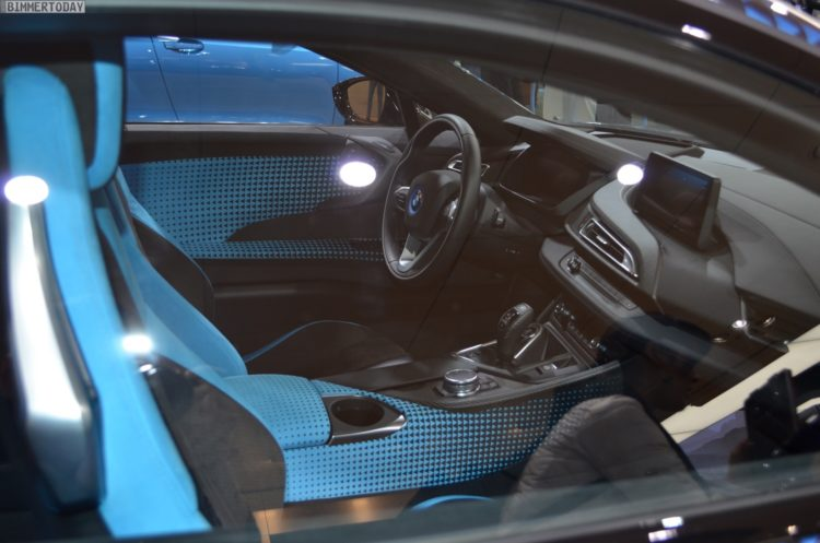 2017 BMW i8 Crossfade Edition Garage Italia Genf Autosalon Live09 750x497