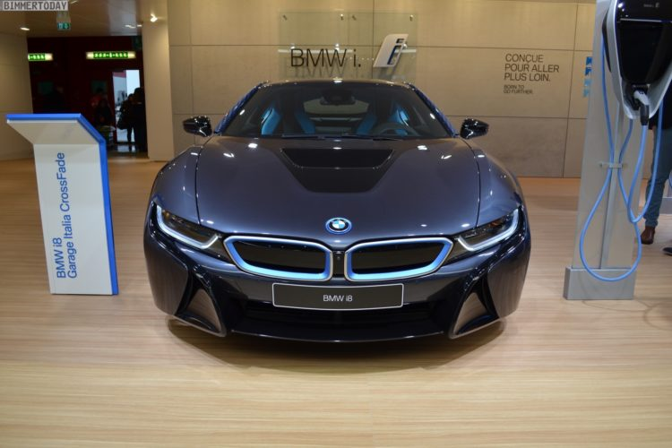 2017 Geneva Bmw I8 Crossfade Edition In The Garage Italia Look
