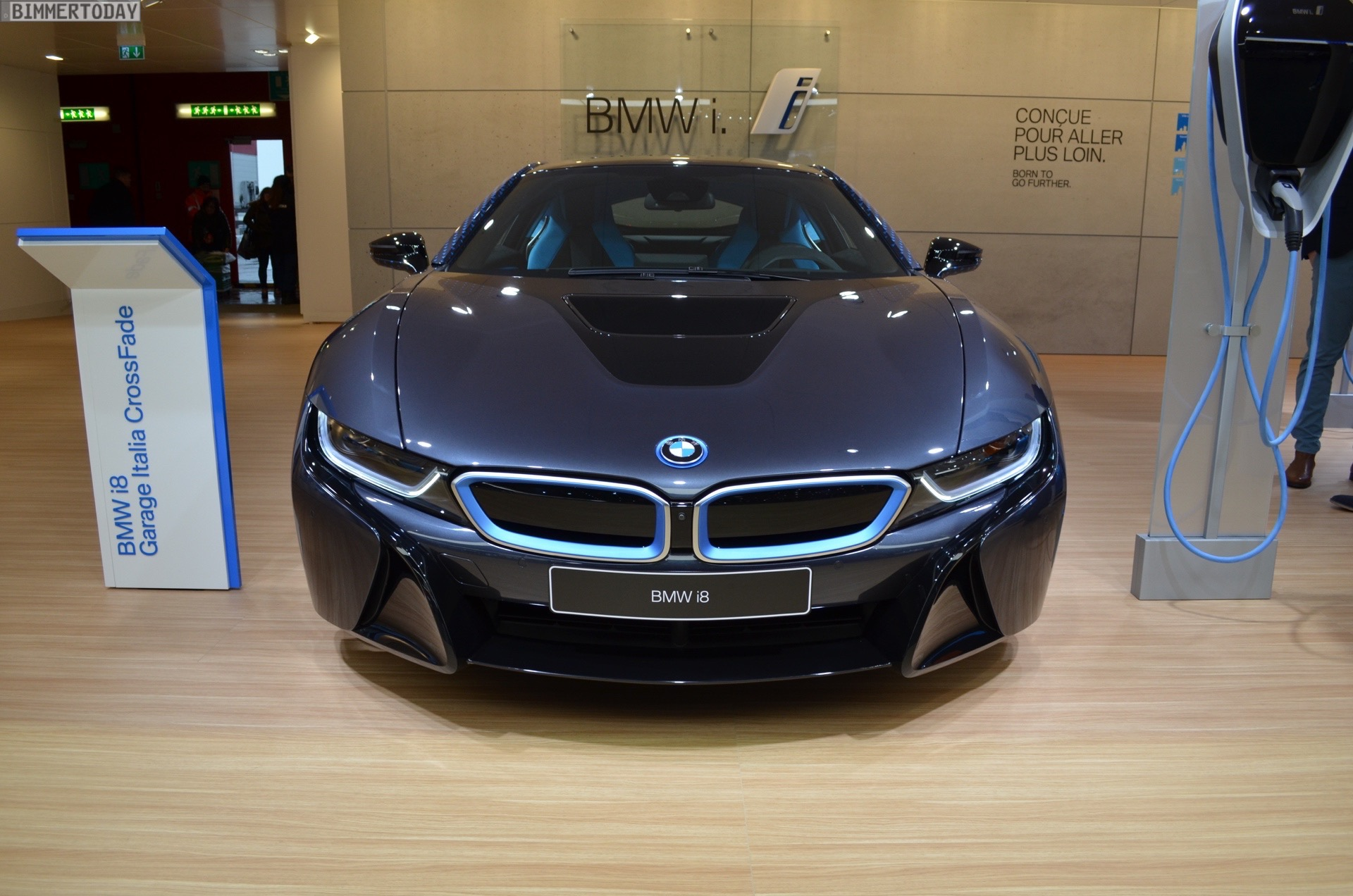 2017 Geneva Bmw I8 Crossfade Edition In The Garage Italia