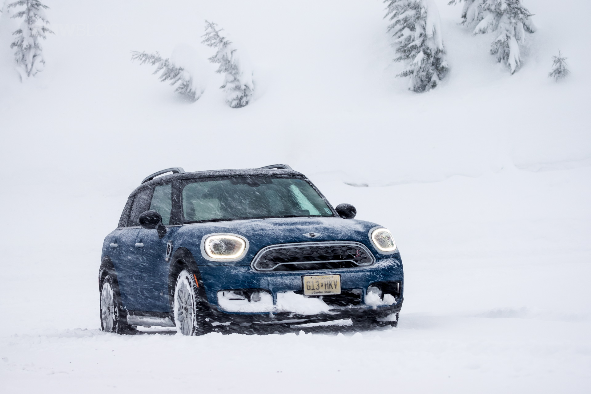 2017 MINI Countryman test drive 141