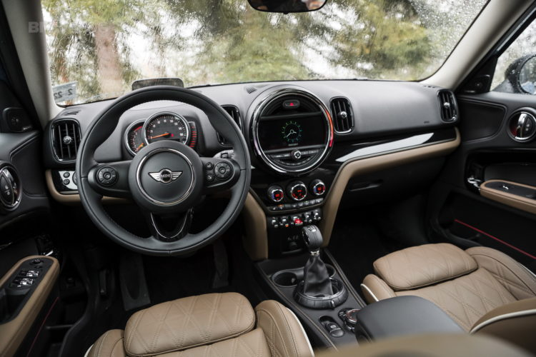 2017 MINI Countryman test drive 162 750x500