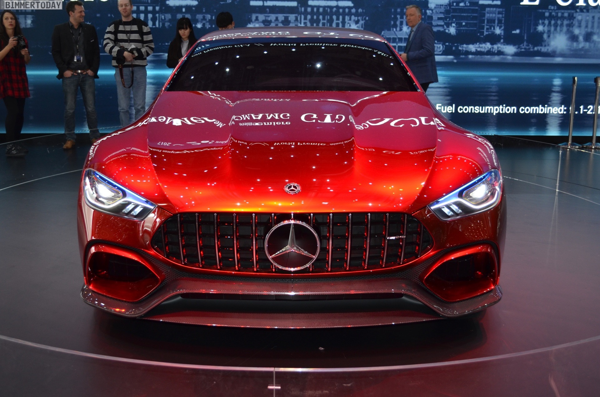 Mercedes Amg Gt Concept Unveiled At The 2017 Geneva Motor Show