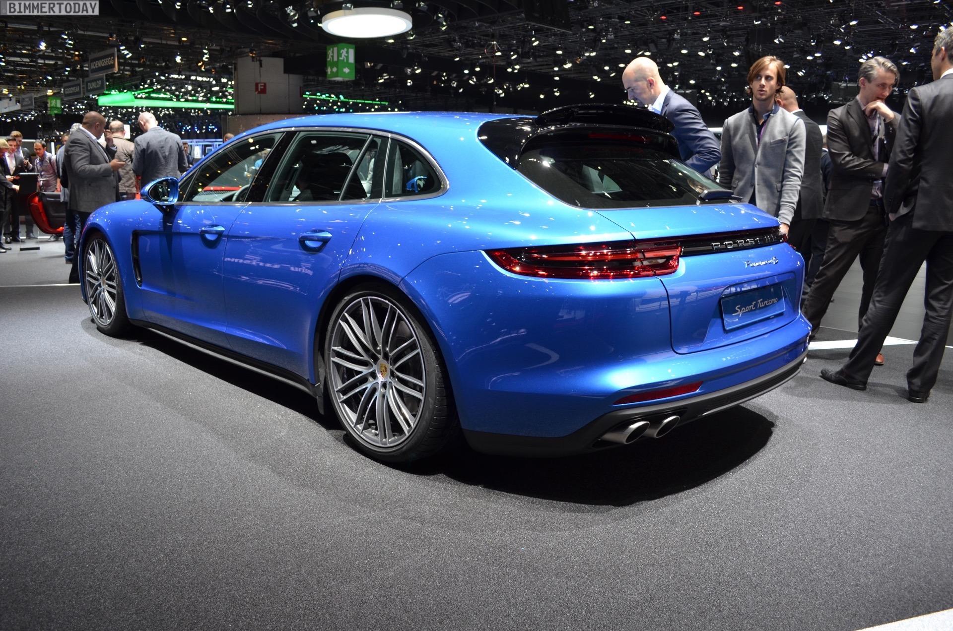 Porsche Panamera Sport Turismo Unveiled In Geneva
