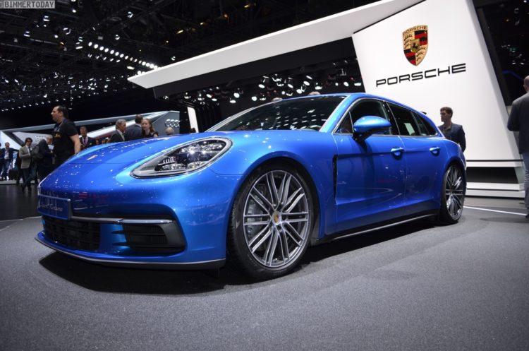 2017 Porsche Panamera Sport Turismo 4S Genf Autosalon Live 12 750x497