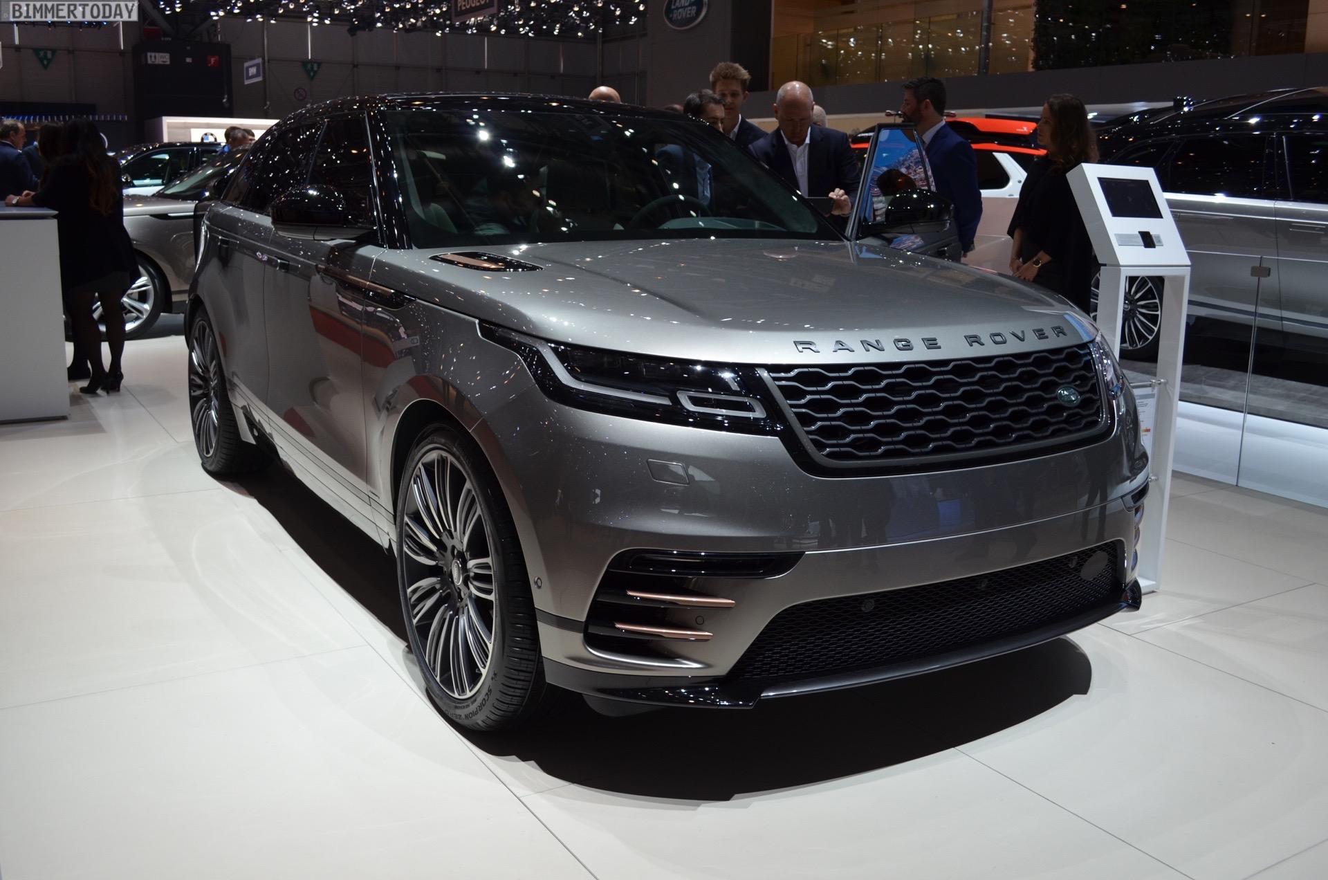 Range Rover Velar Comes To Geneva To Challenge The Bmw X5
