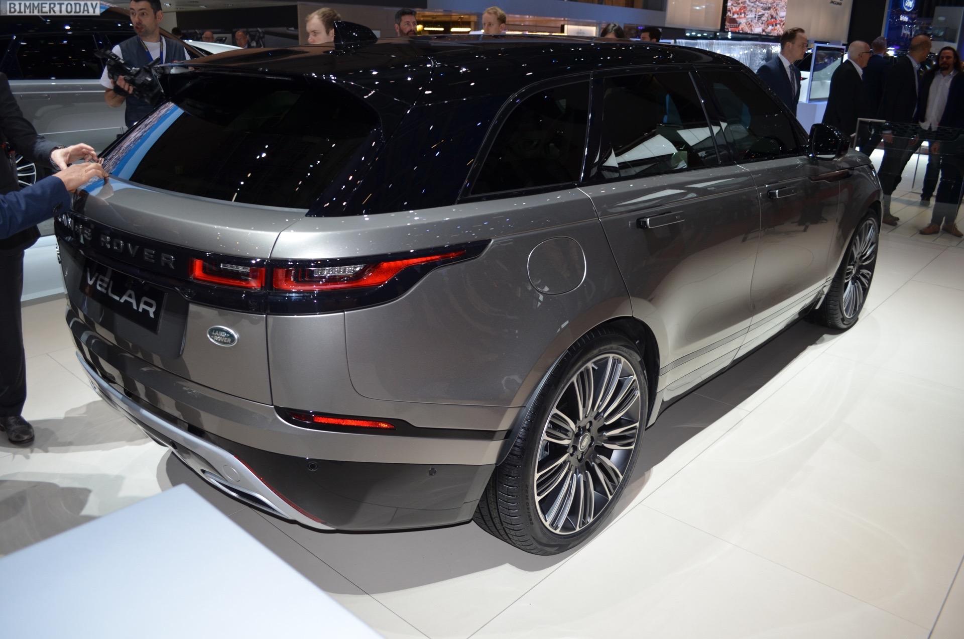 2018 X3 Vs X5 >> Range Rover Velar comes to Geneva to challenge the BMW X5