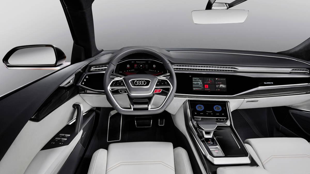 2017 Geneva Audi Q8 Sport Concept