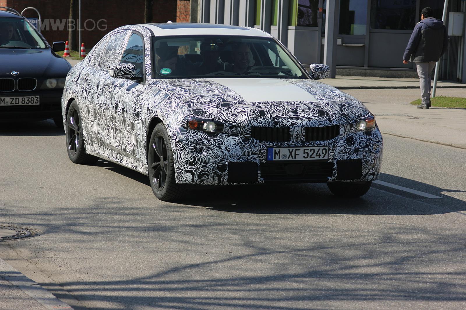 2018 BMW 3 Series spied 01