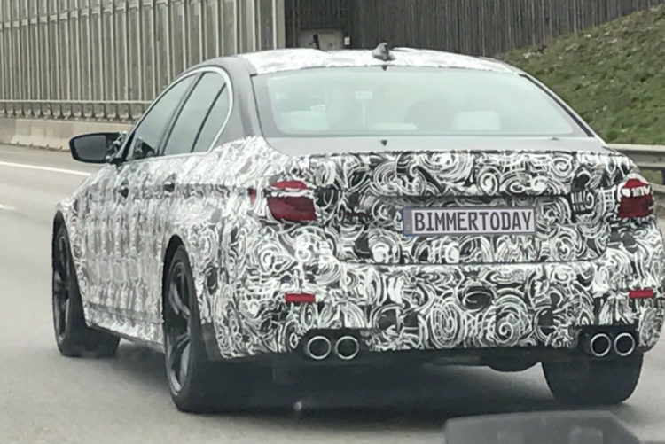 2018 BMW M5 F90 Carbon Dach Spyshot 750x501