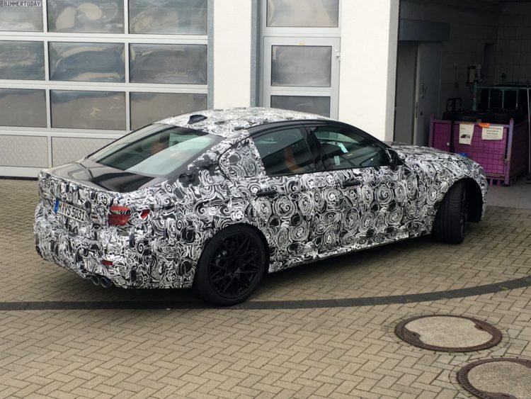 2018 BMW M5 F90 Erlkoenig Nuerburgring 03 750x563