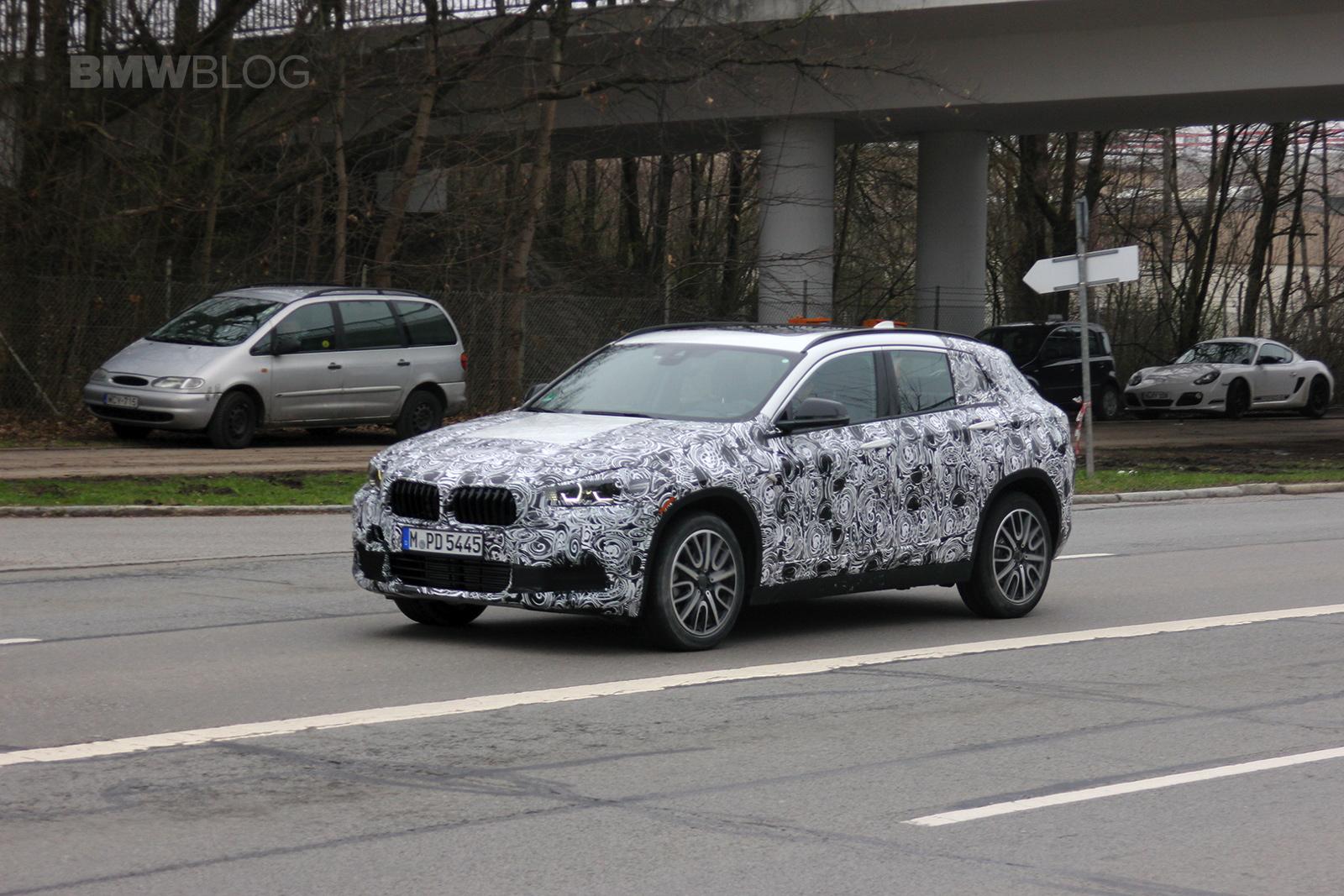 2018 BMW X2 spied 01