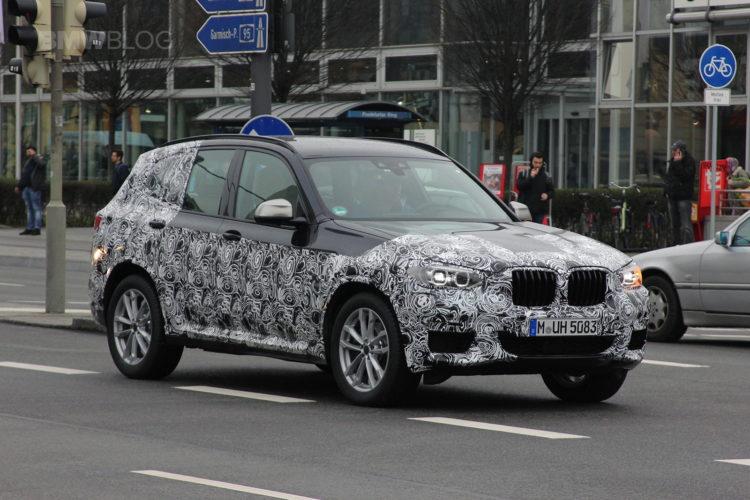 2018 BMW X3 spied 01 750x500