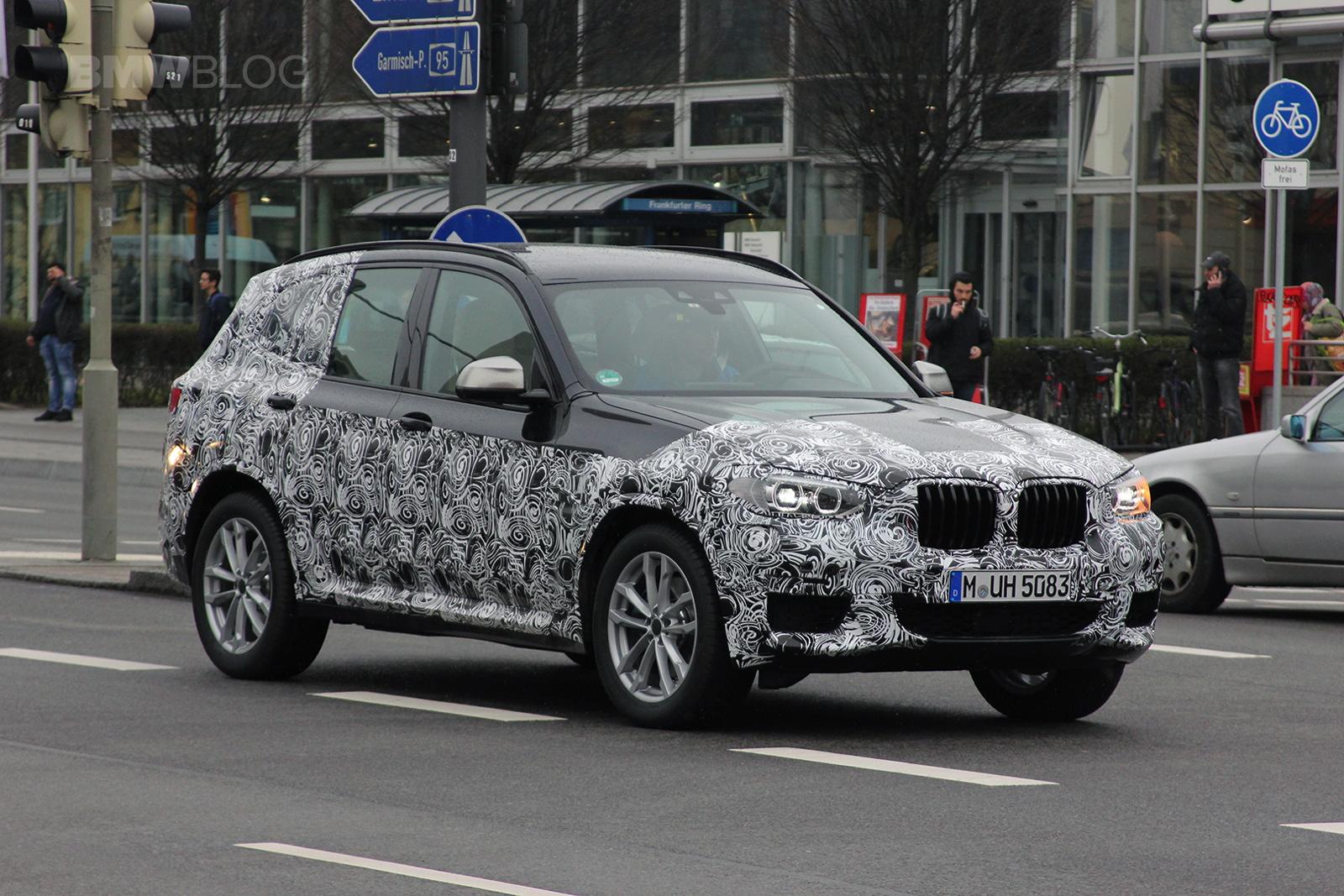 2018 BMW X3 spied 01