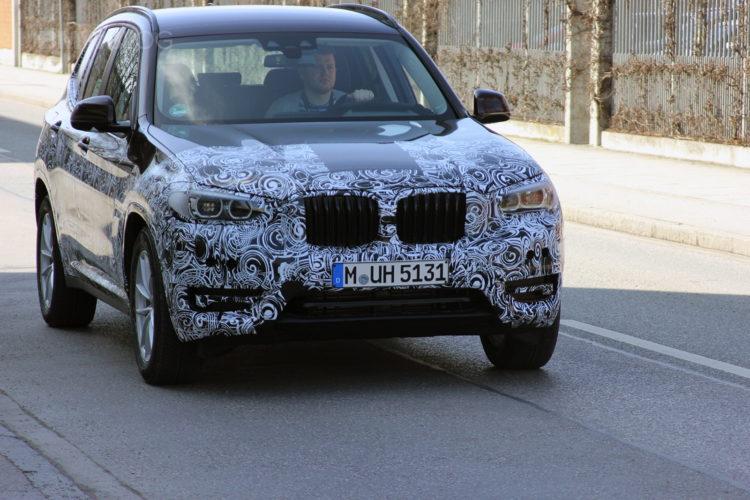 2018 BMW X3 spied 03 750x500