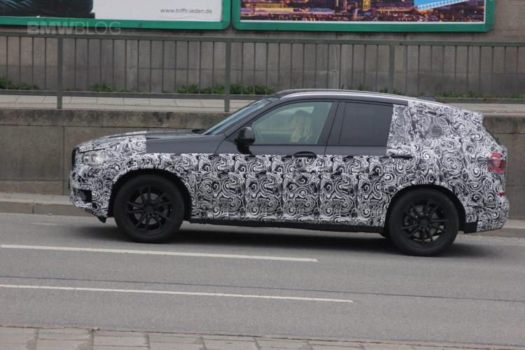 2018 BMW X3 spied 05 750x500