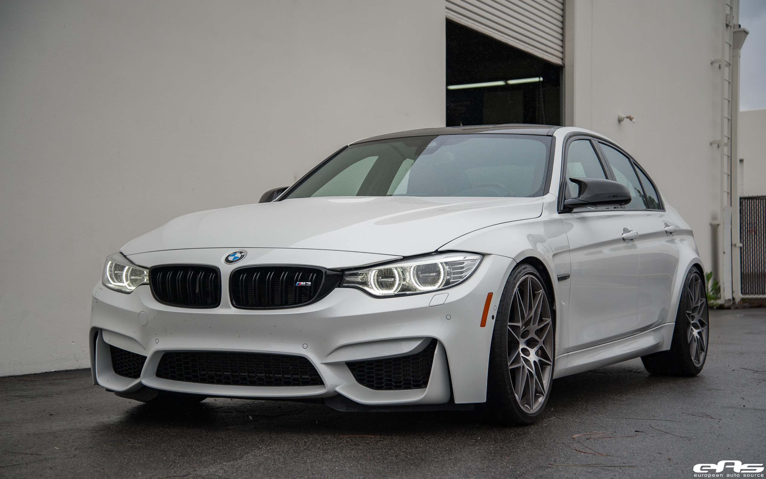 Alpine White Bmw M3 With A Zcp Package Gets Tuned