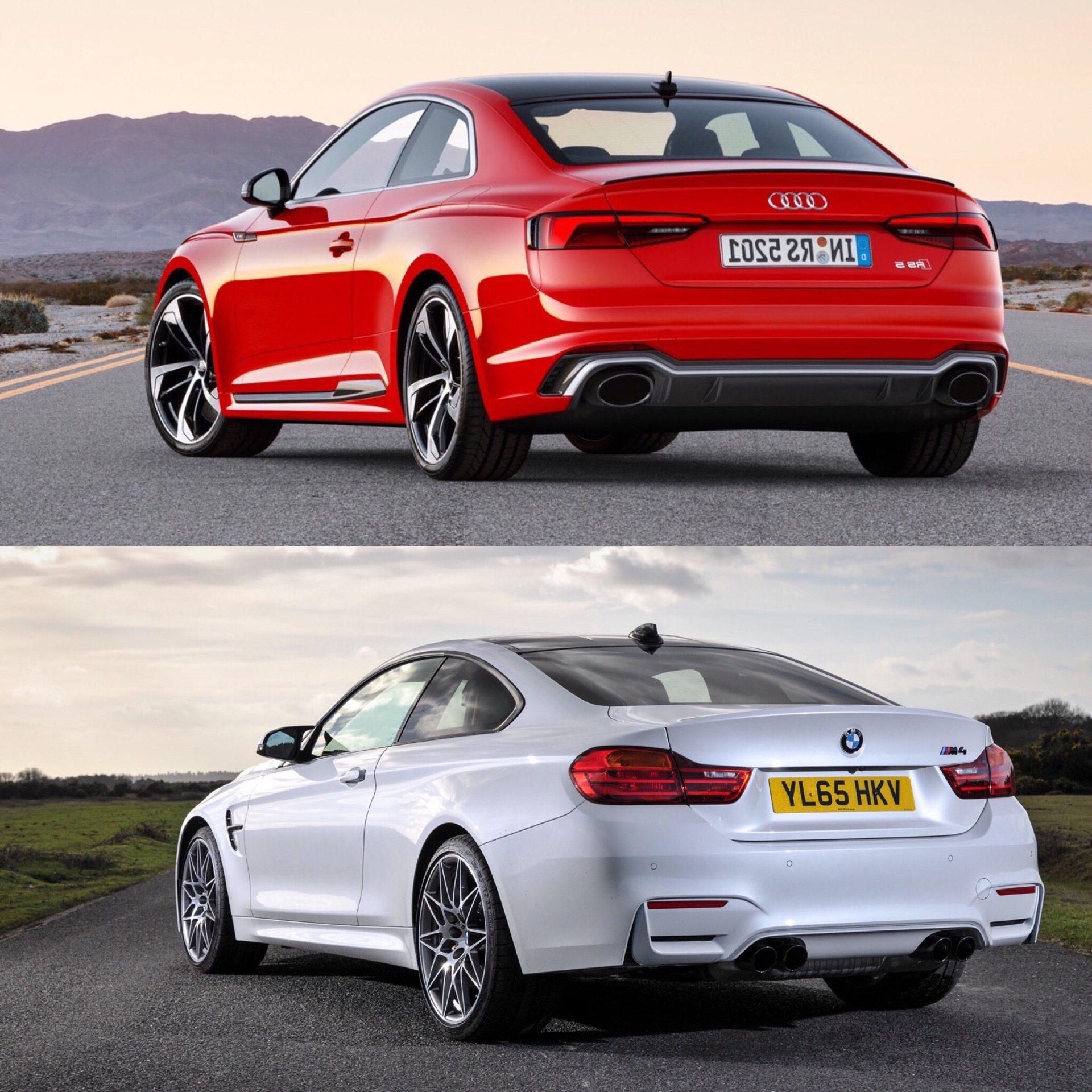 Audi RS5 vs BMW M4 Competition Package2